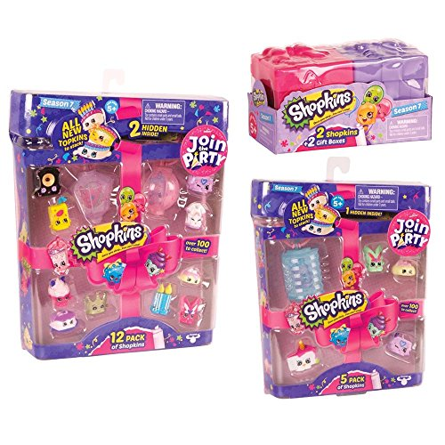 Shopkins Season 7 Shopkins Mega Gift Bundle  Join the Party!