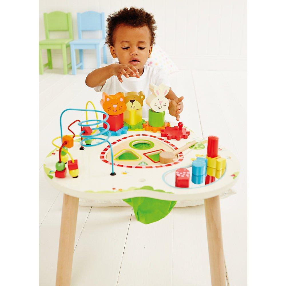 Elc Wooden Activity Table Baby Jpg 1000x1000 Wooden Activity Table