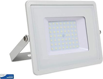V-TAC ® Foco Proyector LED 50W para exteriores VT-50, 4000lm ...