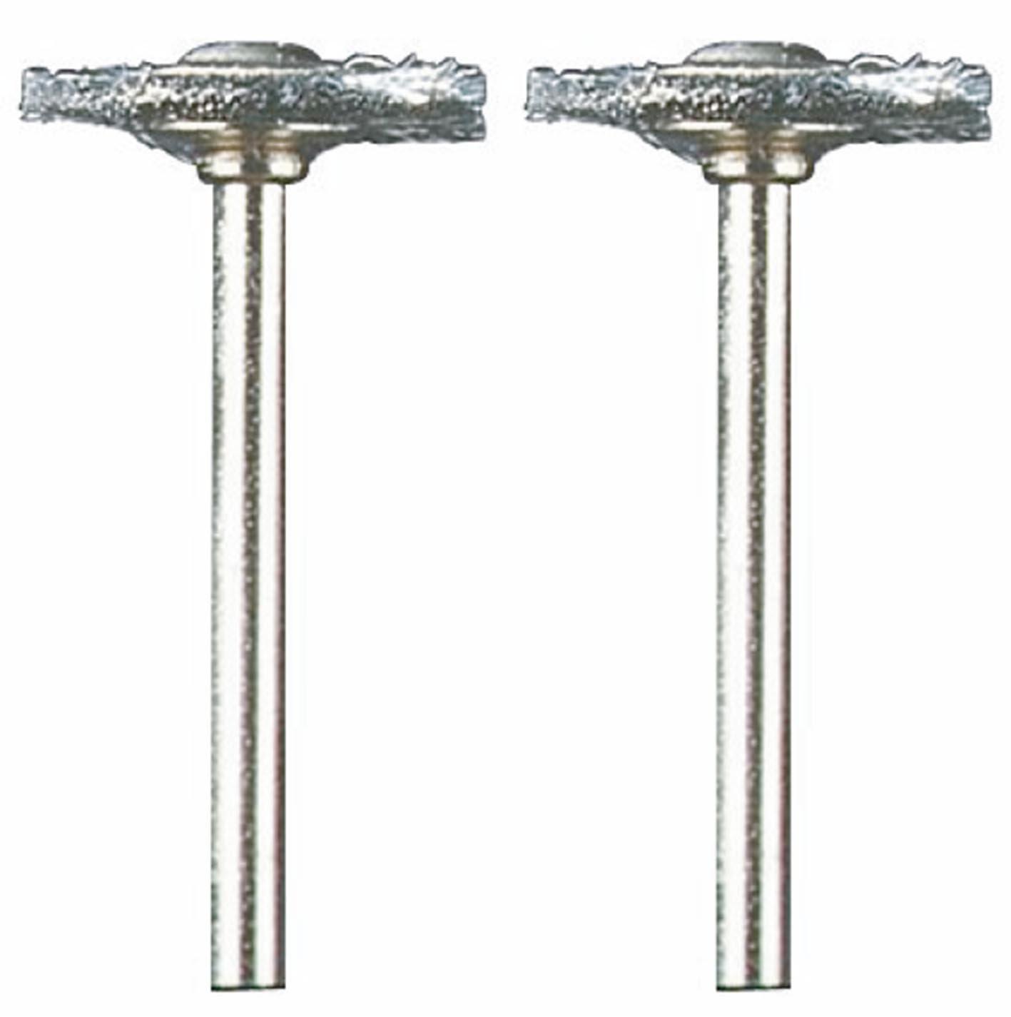 """DREMEL MFG CO 428-02 2 Pack, 3/4"""", Carbon Steel Brush"""