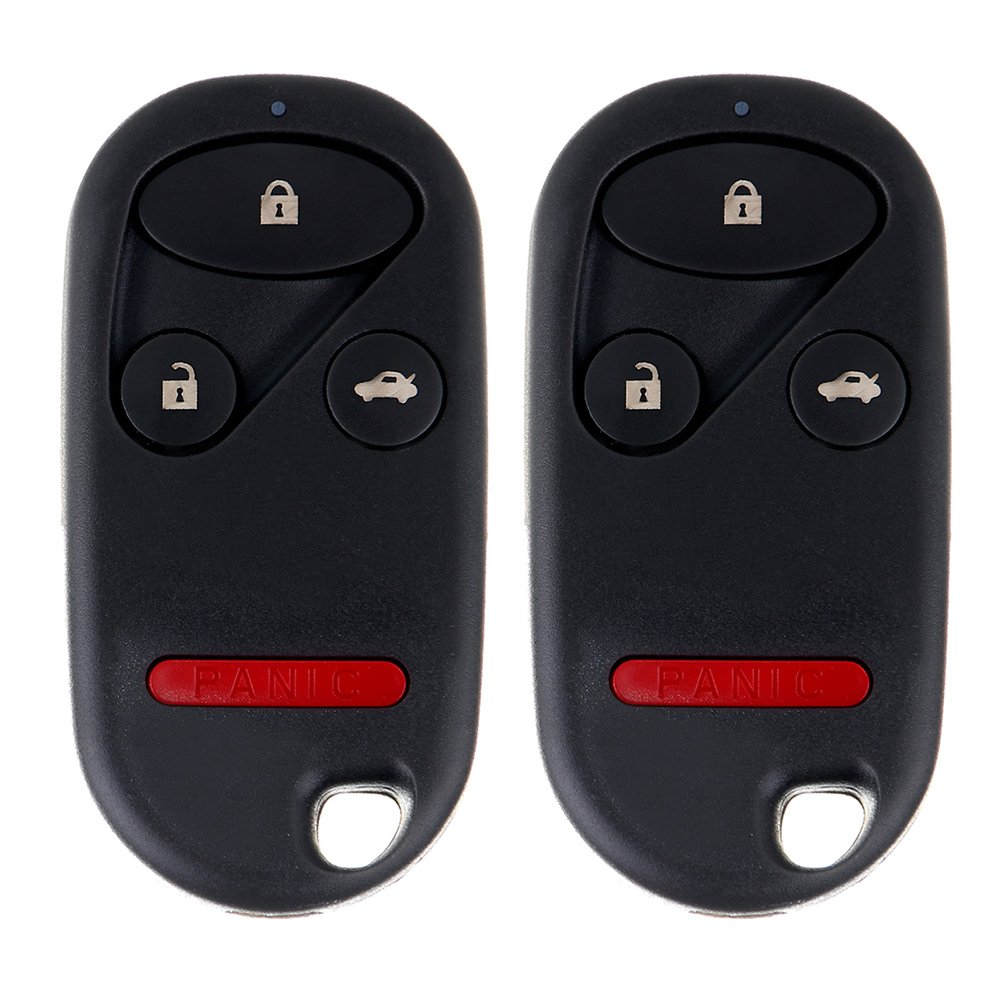 Pack of 2 ECCPP Replacement fit for Keyless Entry Remote Key Fob 02-2004 Honda CR-V OUCG8D-344H-A