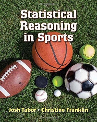 Statistical Reasoning in Sports PDF