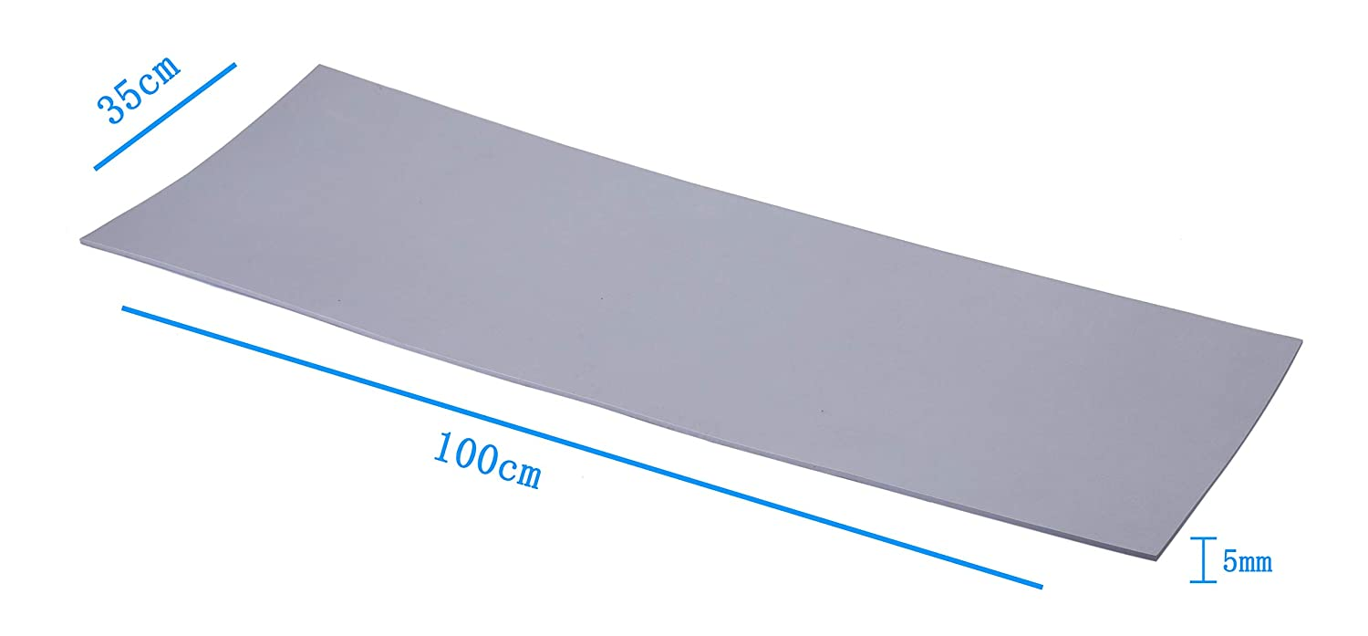 EVA Foam Sheets for Kids Craft Cosplay Model 13/×39 Thickness 1-10mm Grey