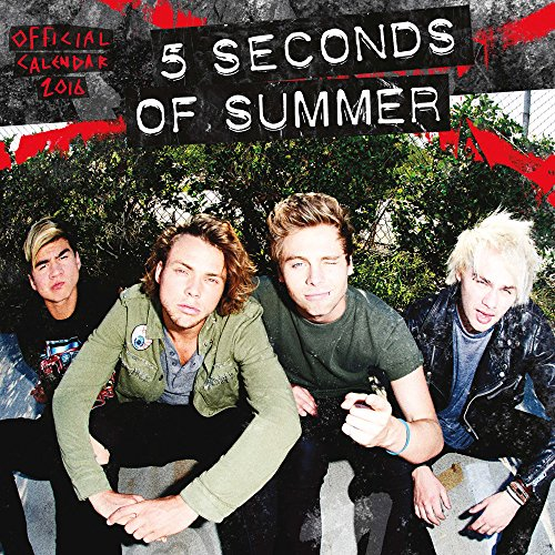 5 Seconds of Summer - 2016 18 Month Calendar 12 x 12in (Publisher Music Posters)