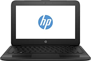 HP Stream Pro 11 G3 11.6 Inch Business Laptop, Intel Celeron N3060 up to 2.48GHz, 4G DDR3L, 64G SSD, WiFi, HDMI, Windows 10 Pro 64 Bit Multi-Language Support English/French/Spanish(Renewed)