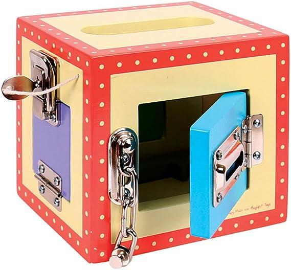 Bigjigs Toys Caja de Seguridad: Amazon.es: Juguetes y juegos