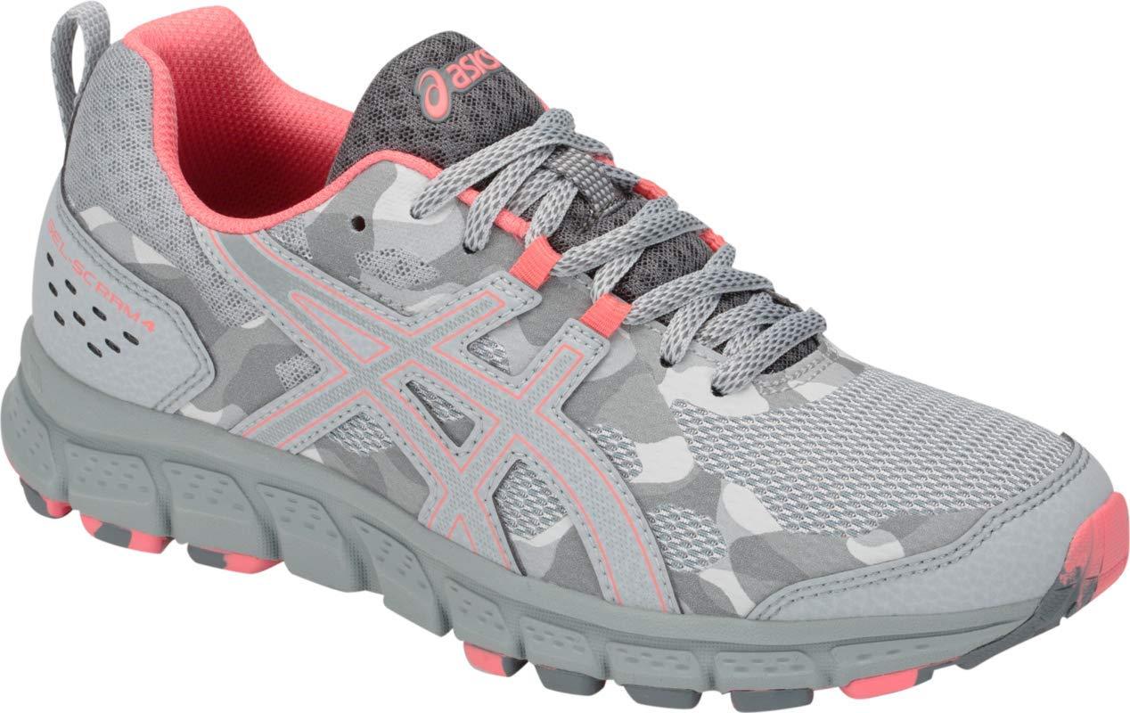 ASICS Gel-Scram 4 Women's Running Shoe, Mid Grey/Stone Grey, 5.5 B(M) US by ASICS (Image #1)