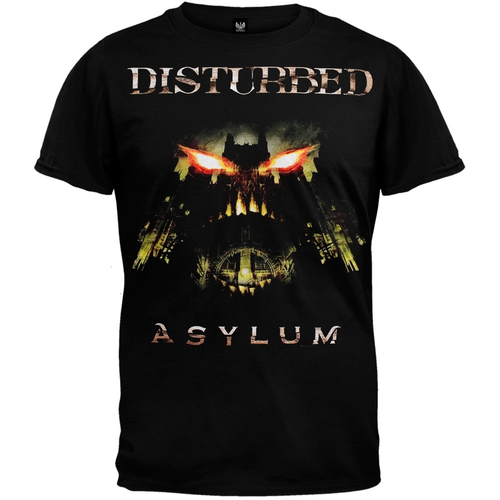 Disturbed - Release 2010 Tour T-Shirt American T-Shirt