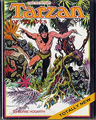 book cover of Tarzan of the Apes