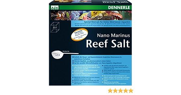 Dennerle Nano Marinus 7004172 Arrecife de Sal 1 kg: Amazon.es ...