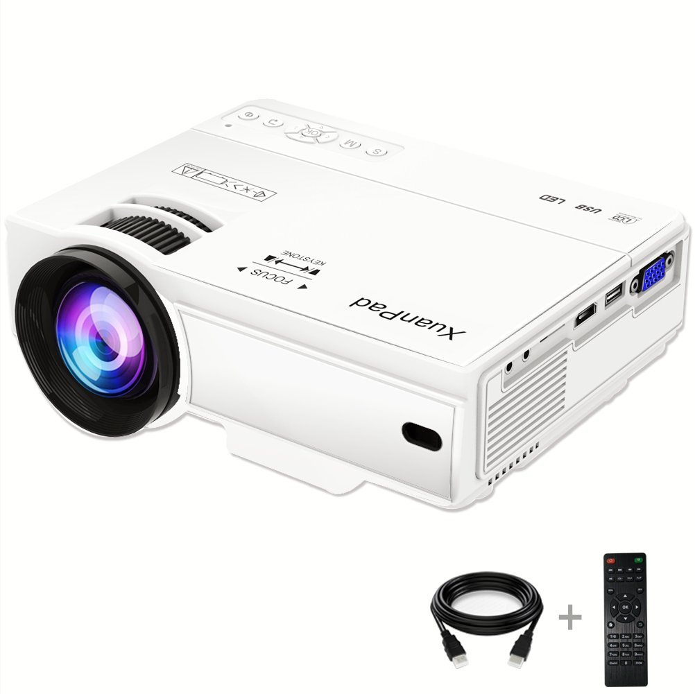 XuanPad B03 Mini Projector 2200 Lúmenes Proyector de video ...