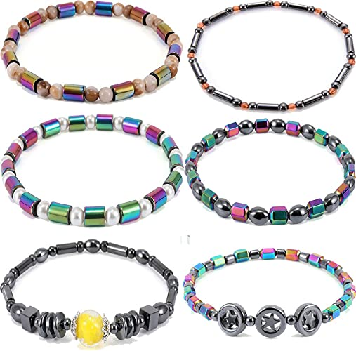 Woman Beach Hematite Bracelet Ankle Chain Beads Fashion      Anklet  Magnetic