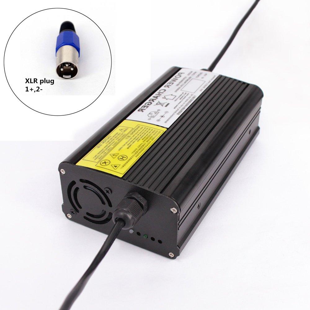 YZPOWER 58.8V 5A Lithium Li-ION Li-Poly Chargeur de Batterie pour 14 Séries 48 V 5A Électrique Vélo XLR Plug