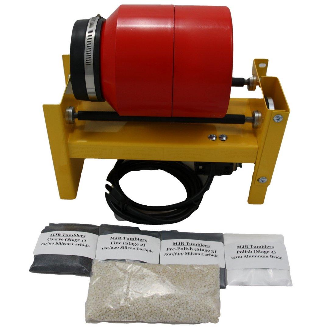 MJR Tumblers 10 LB Rock Tumbler with Grit Kit