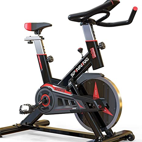 LE Home Spinning Bike Silent Exercise Bike Indoor Fitness Bike ...