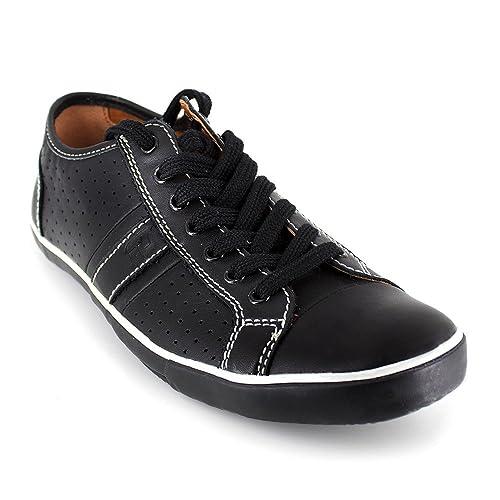 Deportivo Peter Blade Cuero Negro Padel: Amazon.es: Zapatos y ...