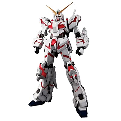 Bandai Hobby PG RX-0 Unicorn Gundam Model Kit (1/60 Scale): Toys & Games