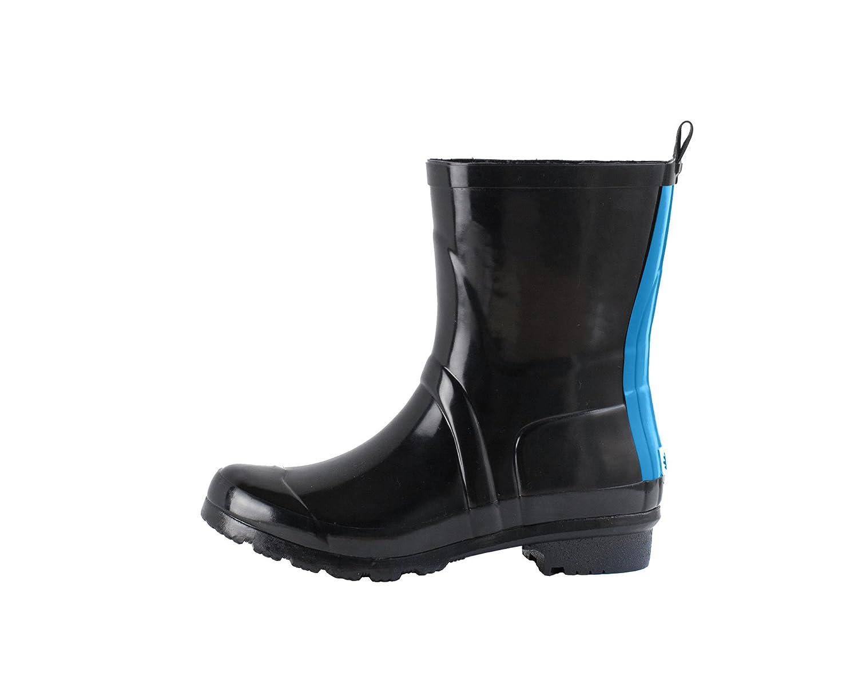 Oakiwear Noxon Mid Calf Women's Rain Boots B01JE4SJMS 5 B(M) US|Blue