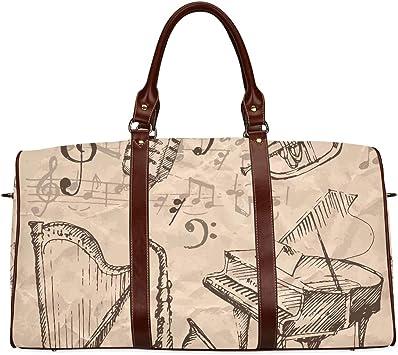 Travel Duffel Bag Waterproof Fashion Lightweight Large Capacity Portable Duffel Bag for Men /& Women JTRVW Luggage Bags for Travel Retro Pug Cartoon Color Pattern