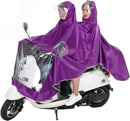 Impermeable bicicleta del motor impermeable de lluvia solo ...
