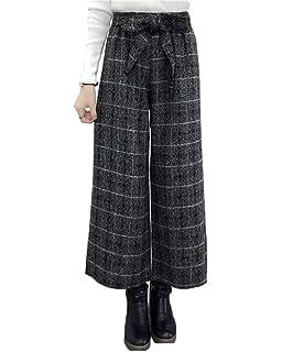 Lanceyy Palazzo Hosen Damen Einfarbig High Waist Weiten Bein Hose Herbst  Winter Fashion Perfect Pin- ecb2ce7fac