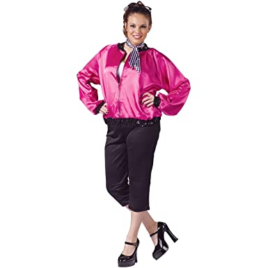 20d9b788d5a Amazon.com  Pink T-Bird Sweetie Adult Costume - Plus Size 1X 2X  Clothing