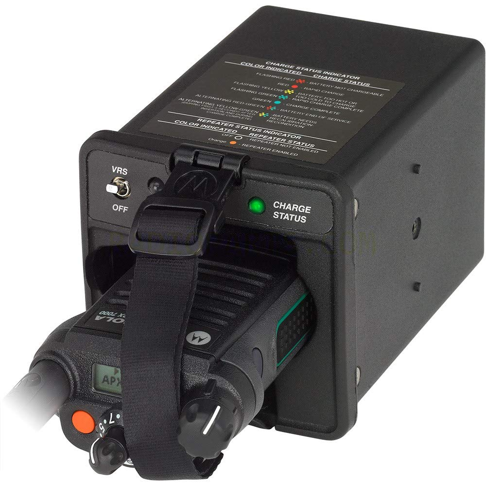 Motorola NNTN7624C APX Vehicular IMPRES Charger Compatible with APX8000, APX7000, APX7000XE, APX6000, APX6000XE, SRX2200