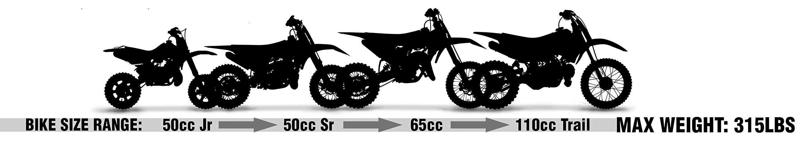 Risk Racing 00176 Silver Lock-N-Load PRO Mini - Strapless Motocross Transport System by Risk Racing (Image #6)