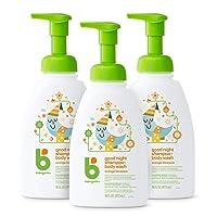 Babyganics Baby Shampoo + Body Wash Pump Bottle, Orange Blossom, 16oz, 3 Pack, Packaging...