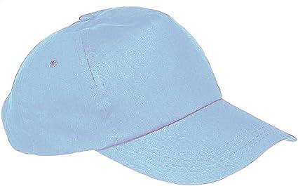Gorra de béisbol para niño/a, talla unisex multicolor azul claro ...