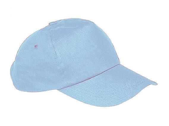 New-Gorra de béisbol Cap-Gorra con visera plana para hombre, diseño de niña-Gorro unisex para niños Varios colores azul claro Regular