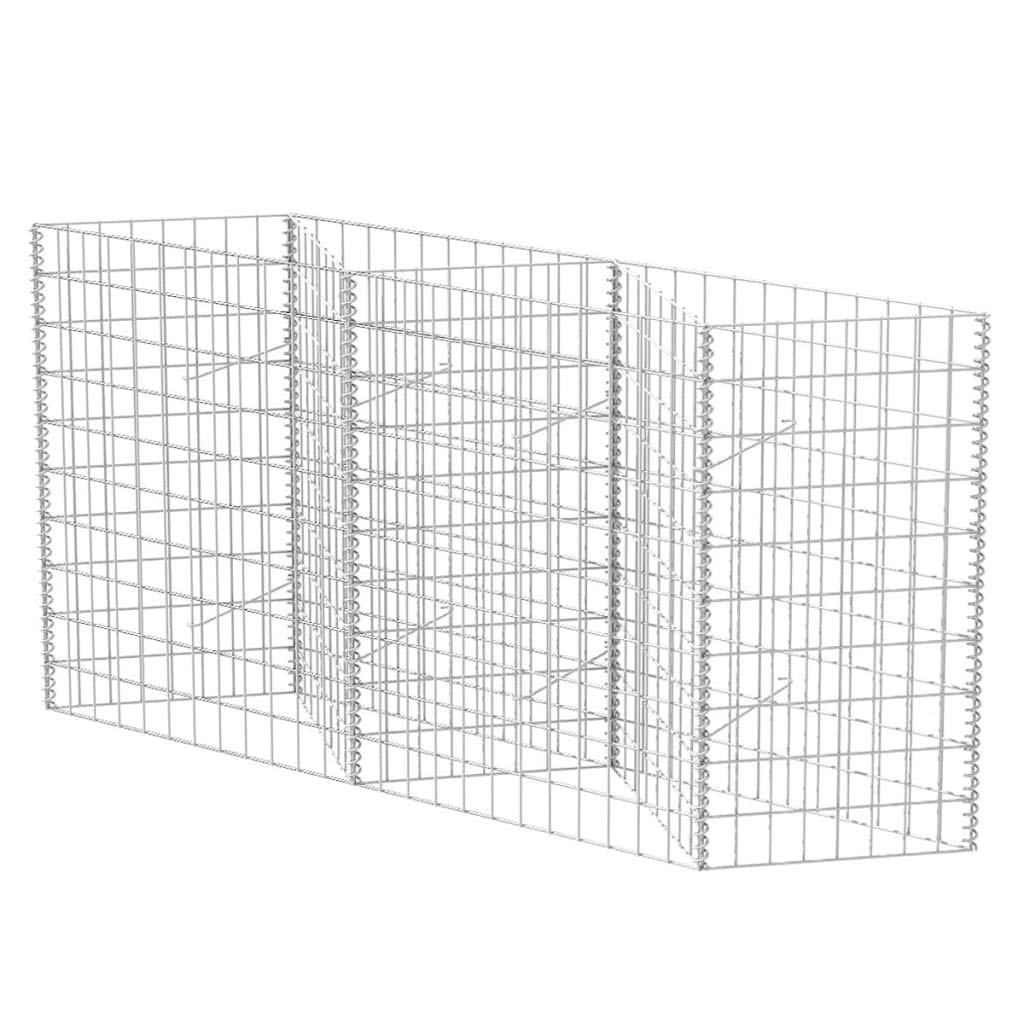 Daonanba Durable Gabion Basket Practical Gabion Material for Garden Projects