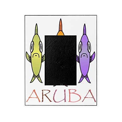 Amazon.com: CafePress - Aruba - Decorative 8x10 Picture Frame ...