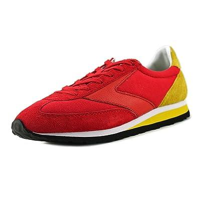 Brooks Heritage Women's Vanguard True Red/Vibrant Yellow Athletic Shoe