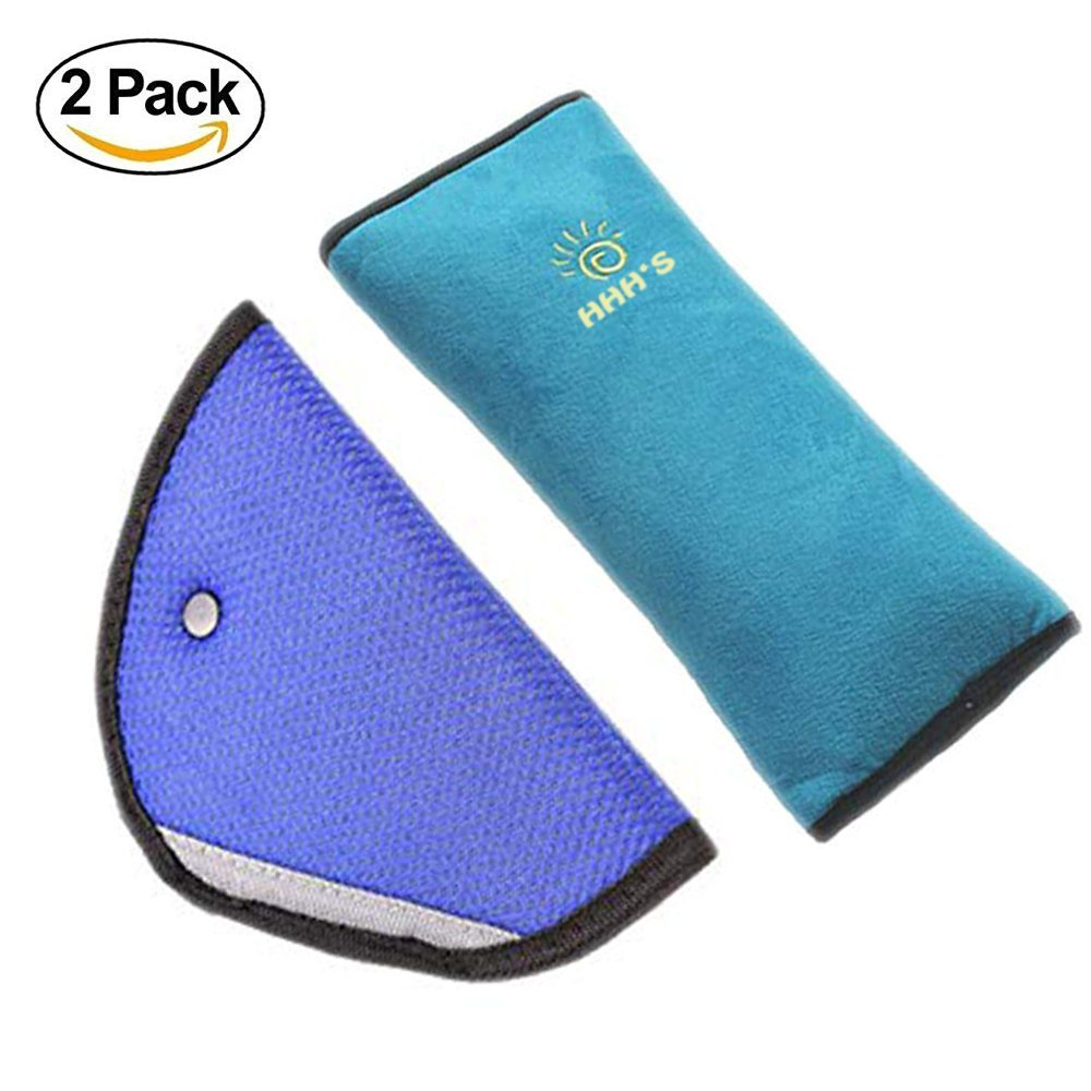 Seat Belt Pillow for Kids by HHH'S | Seat Belt Pillow Car Safety Belt Protect | Seatbelt Pillow Car Seatbelt for Kids | Seat Belt Cover for Kids Seatbelt Pillow Adjust Vehicle Shoulder Pads Safety HHH's