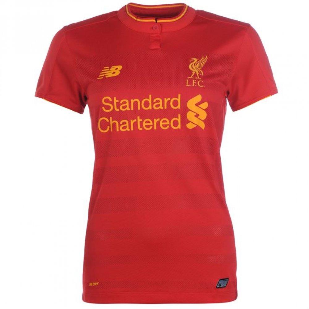 2016-2017 Liverpool Home Ladies Football Shirt New Balance