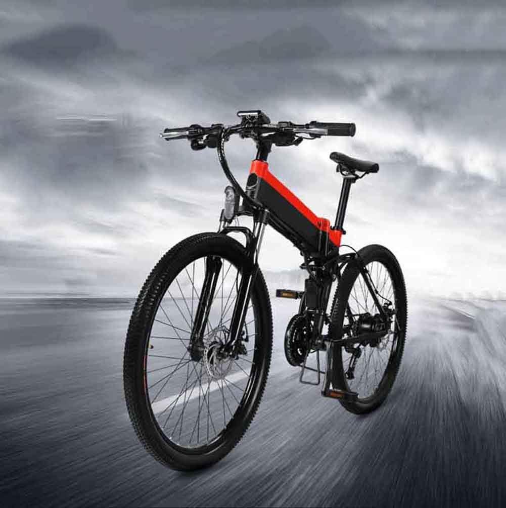FEE-ZC Bicicleta de montaña eléctrica de 26 con batería ...