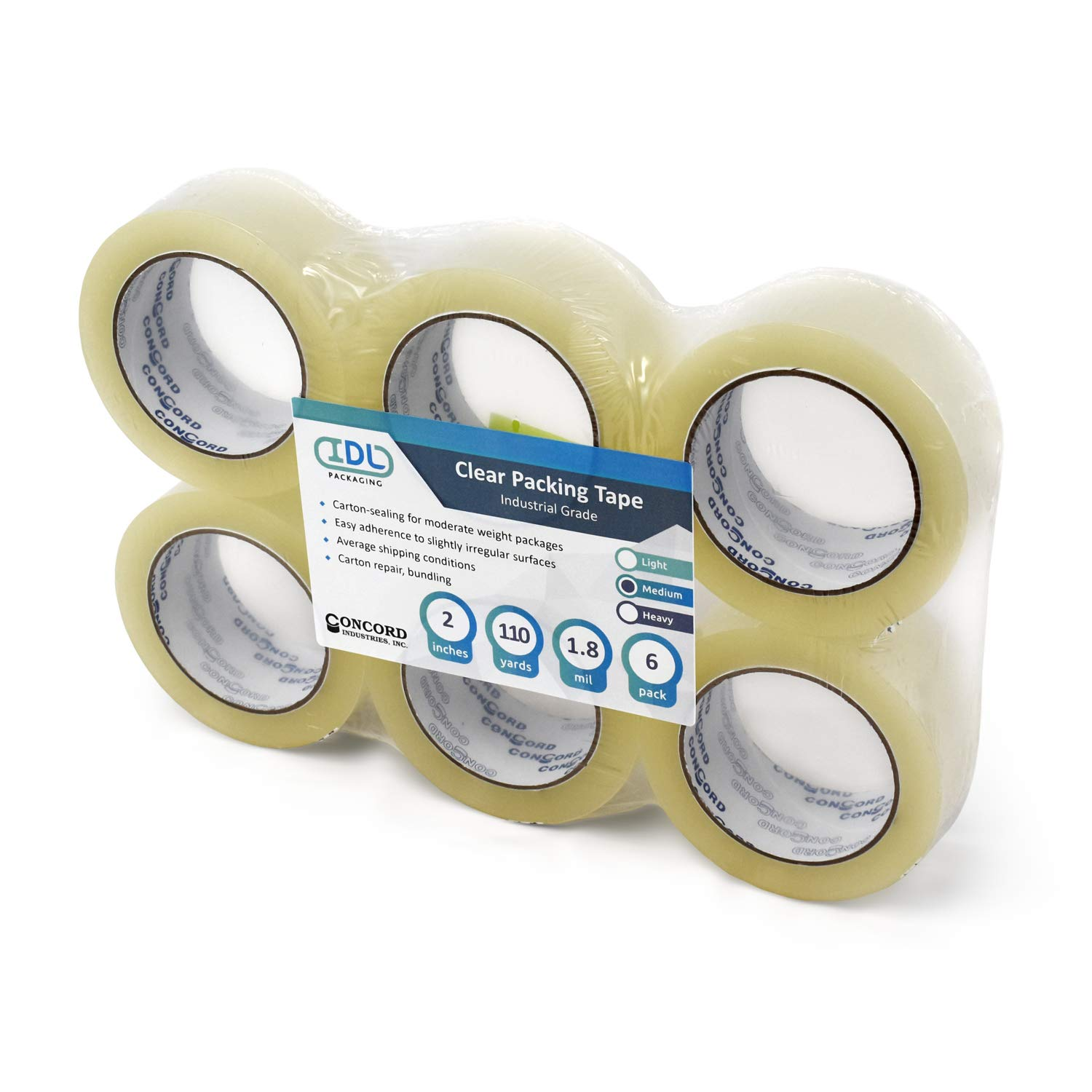 IDL Packaging Concord Packing Tape - 2