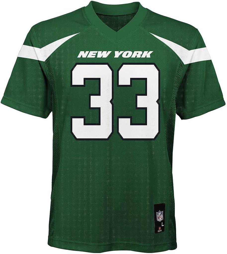 Amazon Com Jamal Adams New York Jets 33 Green Kids 4 7 Home Mid Tier Jersey Clothing