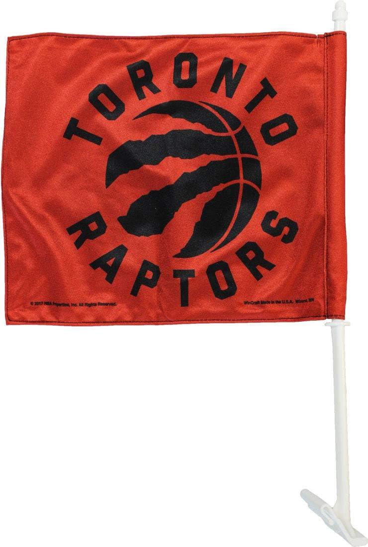 "WE THE NORTH,TORONTO RAPTORS Flag,12/"" X 18/""  CAR STICK FLAG BANNER Without POLE"