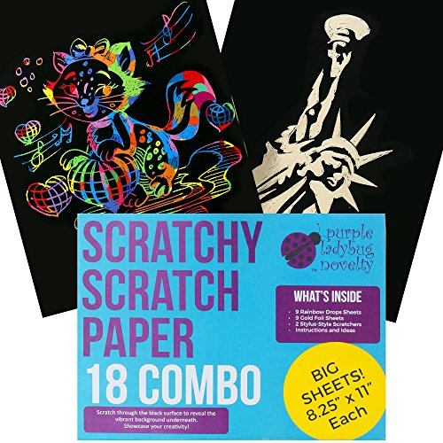 Sheets SCRATCH PAPER Combo Kids product image