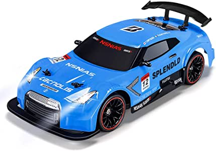 Remote Control Trucks Monster RC Car 1: 12 Scale Off Road Vehicle 2.4Ghz Radio Remote Control Car 5WD High Speed Racing All Terrain Climbing Car Gift for Boys