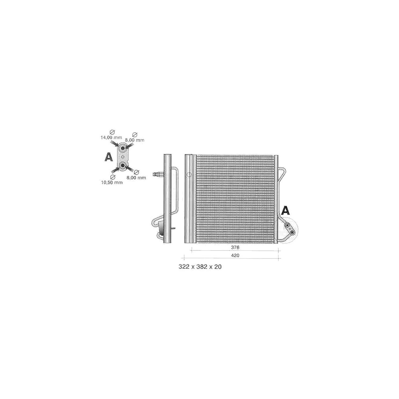 Delphi TSP0225320 Condensatore Clima