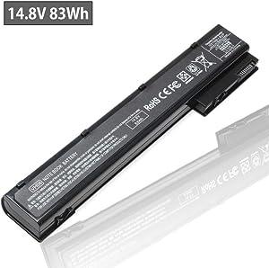 VH08 VH08XL Laptop Battery for HP EliteBook 8560w 8570w 8760w 8770w fit 632113-151 632114-421 632425-001 632427-001 HSTNN-LB2P HSTNN-F10C HSTNN-IB2P HSTNN-LB2Q HSTNN-I93C QK641AA