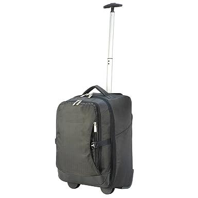 Shugon Roma - Sac de voyage à roulettes cabine (30 litres) (Taille unique) (Noir) q8Y3TUUXaX