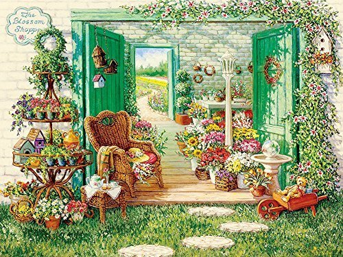 Cobble Hill The Blossom Shoppe Jigsaw Puzzle, 500-Piece by Cobble Hill
