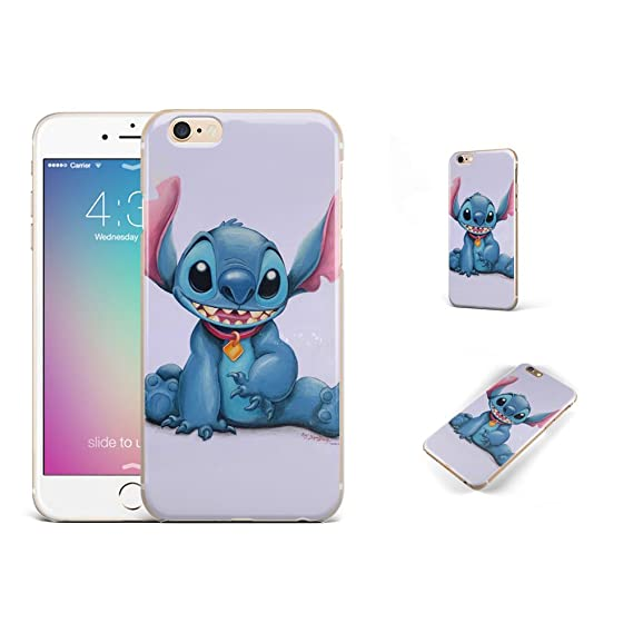 GSPSTORE iPhone 7 case Lilo & Stitch Disney Cartoon Cute Case Hard Plastic Protector Cover for iPhone 7#color4