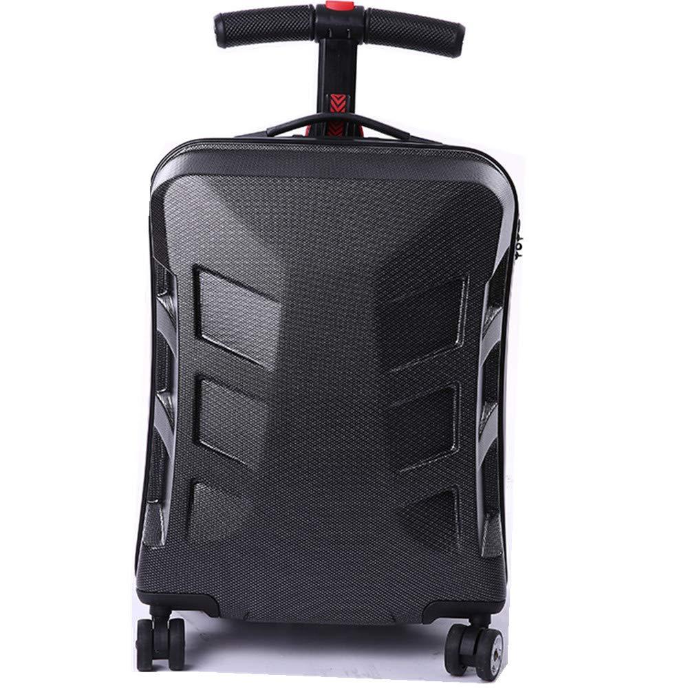スーツケース パーソナライズスクーター、プルロッドボックス、スーツケース、パスワードボックス、荷物コンパートメント、旅行や搭乗用 B07V6R65V7
