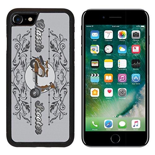 MSD Premium Apple iPhone 7 Aluminum Backplate Bumper Snap Case iPhone7 scooter vintage IMAGE 20412831