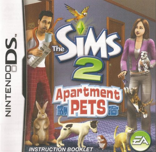 The Sims 2 - Pets GBA Instruction Booklet (Game Boy Advance Manual only) (Nintendo Game Boy Advance Manual) ()
